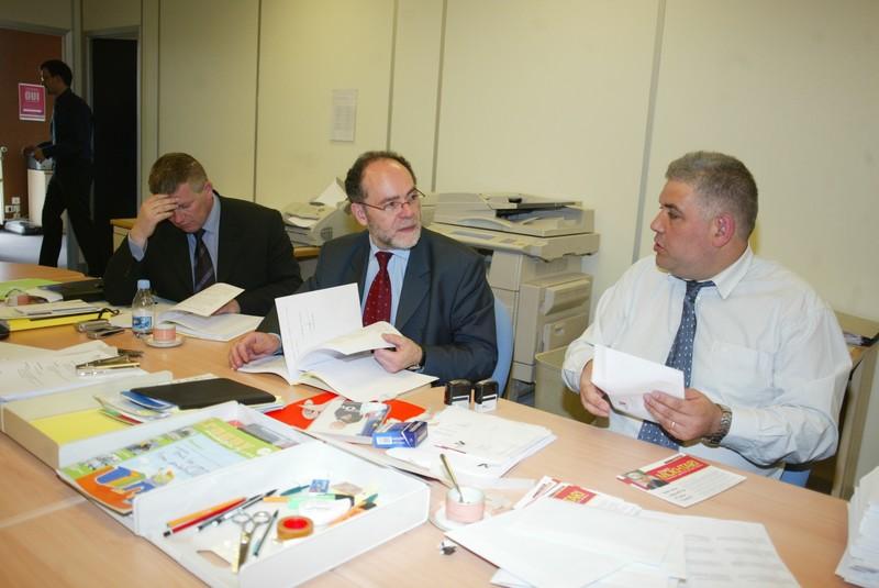 Avec Hussein MOKHTARI et Philippe DEMARET, Conseillers généraux