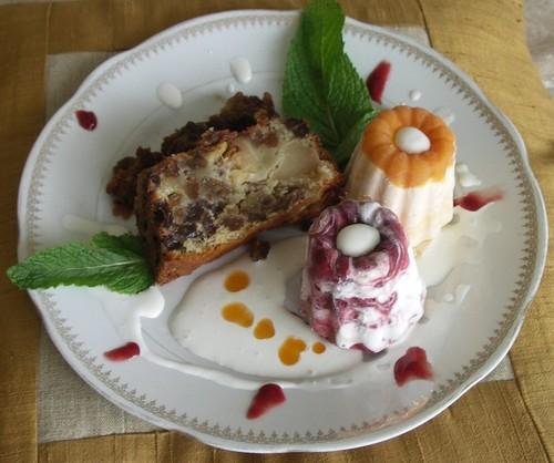 Gateau Di et muffins glacés
