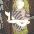 une poupée de chiffon