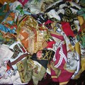 ma p'ite collection de foulards !