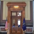 Le bureau du Gouverneur Daniel