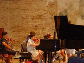 Ingmar et l'orchestre symphonique du Festival de Chioggia 2003