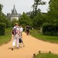 Château de Chaumont vu des Jardins du festival