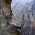 Narrow paths in the Tiger Leaping Gorge