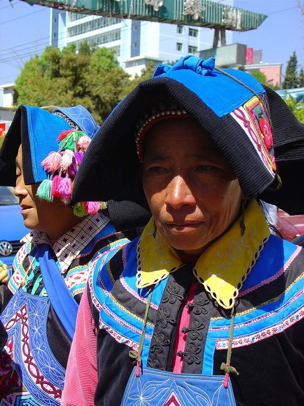 A Hani woman in Gejiu