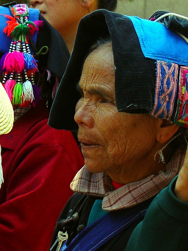 A Hani woman in Geijiu
