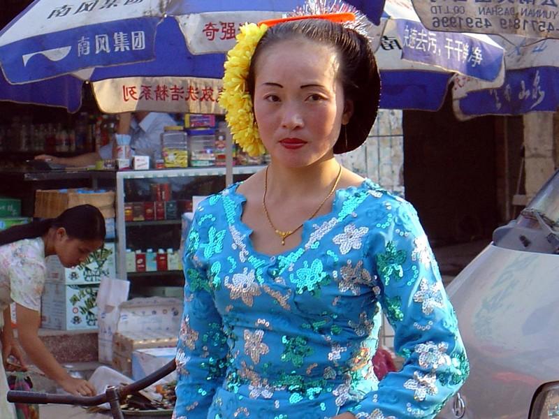A Dai woman