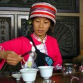 Preparing tea in Shilin
