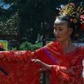 Woman with grace in Gejiu