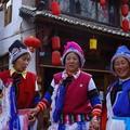 Bai women in Lijiang