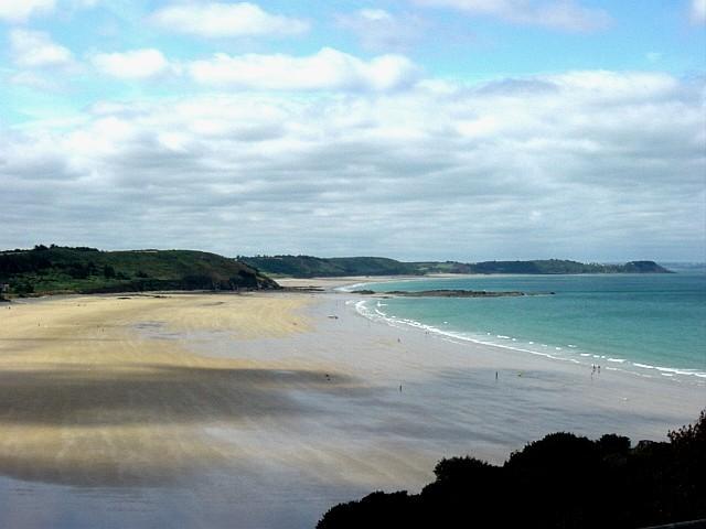 A beach in Britanny (Erquy)