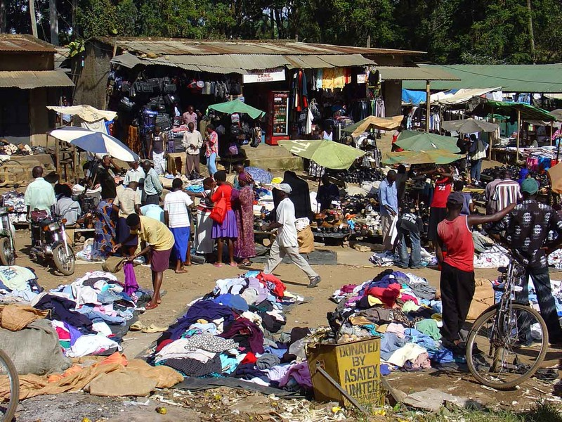 market in Fort Portal