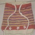 Dos du sac à dos tricoté