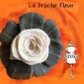 Broche Fleur d'hiver