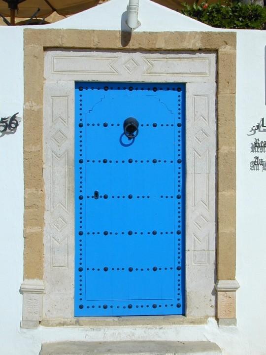 Sidi porte029 photo de sidi bou said tunisie loisirs for Decoration porte sidi bou said