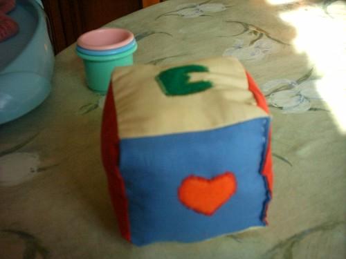 Cube tissu pour Pepetouille
