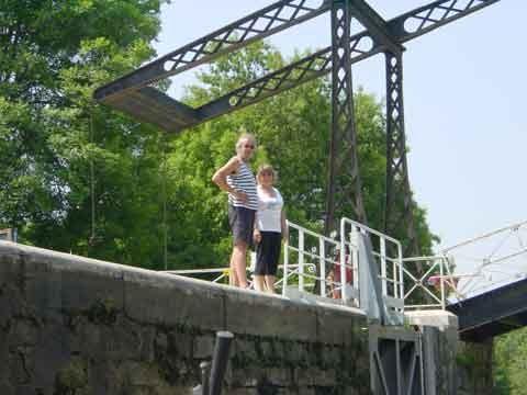 Les ponts levis du canal de Briare