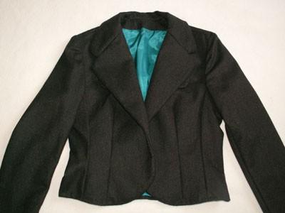 veste chocolat (Burda Easy automne 2005)