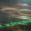 Petits flans au chocolat