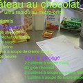 Recette de gteau au chocolat