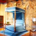 Le lit de Diane de Poitiers, favorite du roi Henri II à laquelle il avait fait don du château