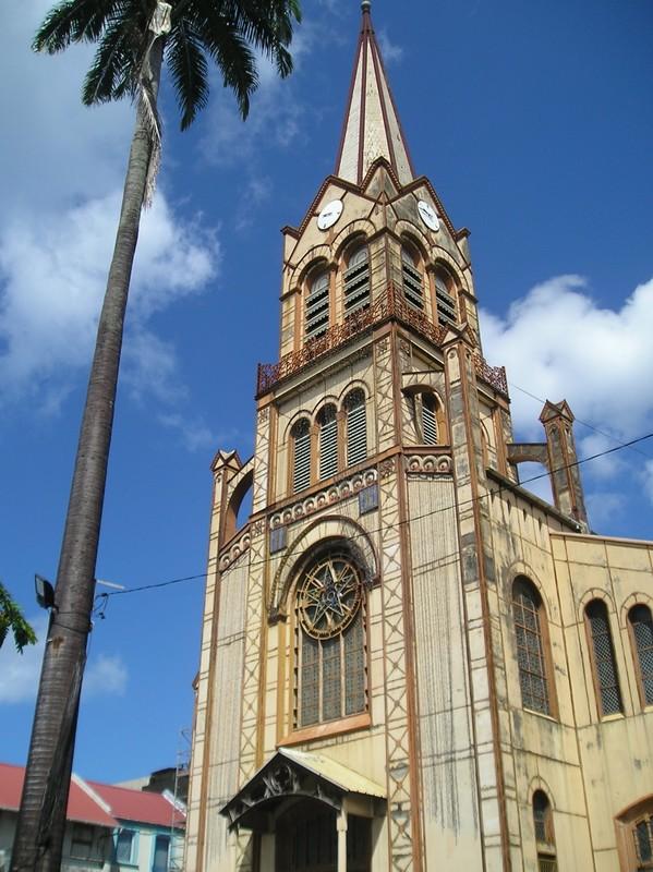 Eglise du centre de Fort de France