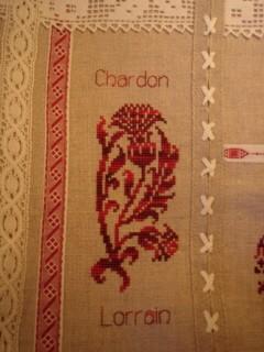 Le chardon Lorrain de Maria Zajac