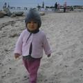 ma première... rien du tout mais maman aime bien cette photo sur la plage au Danemark...