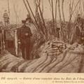 Tranchées Françaises en forêt d'Argonne