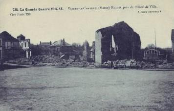 Ruines Vienne le Chateau