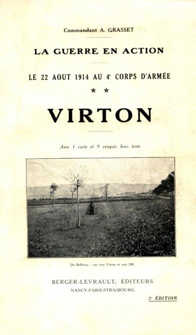 Les combats de Virton (Belgique 1914)