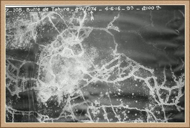 Butte de tahure en 1916