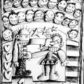 La loi du + fort - Feutre et fusain