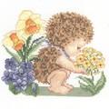 EMS bébé hérisson (ma broderie pour un ouvrage commun)