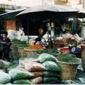Piments au marché de Bangkok