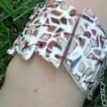 Détail du bracelet mosaïque