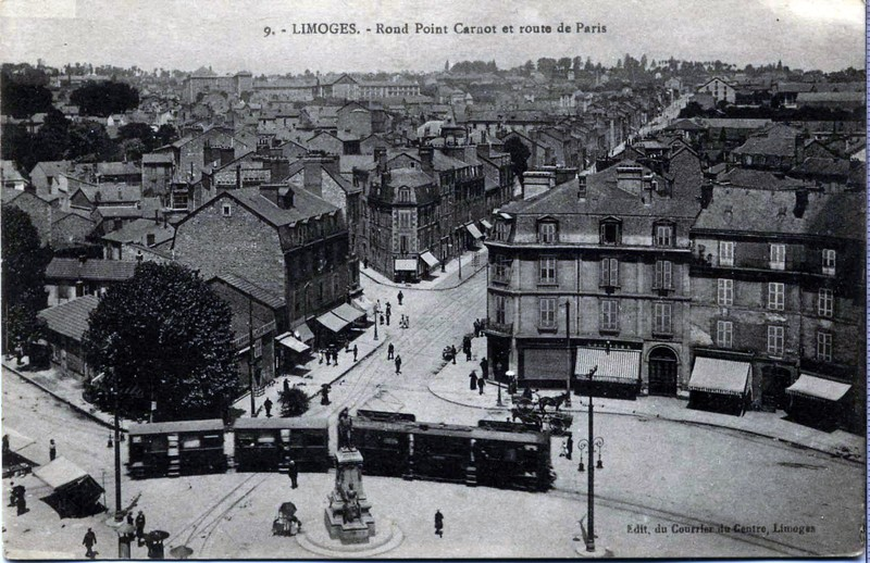 Limoges Place Carnot Place Carnot