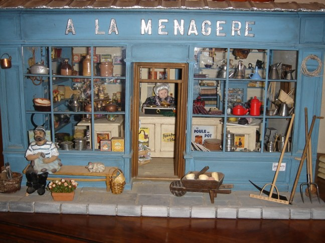 epicerie ancienne album photos mes vitrines miniatures. Black Bedroom Furniture Sets. Home Design Ideas
