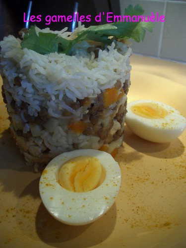 Buriani de poulet au rice cooker