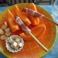 Assiette estivale