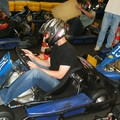 Chaton en train de s'installer dans le kart