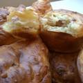 Muffins lardons oignons fromage