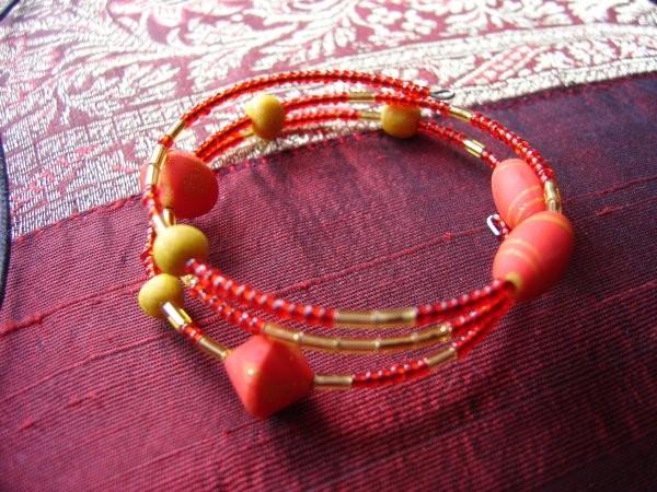 Bracelet spirale