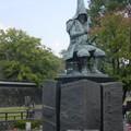 Kumamoto - Statue de Kato Kiyomasa, constructeur du Château
