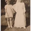 avec Renée, communion