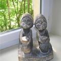 des anciennes en bois du Bénin