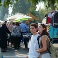 Erretria : marché avec Pierre et Colette