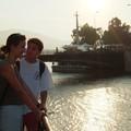 Halkida : canal en contre jour