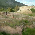 Mycenes : site archeologique ferme