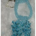 Collier chips turquoise (Varvara)